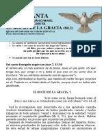 HORA SANTA Con San Pedro Julián Eymard. El Rocío de La Gracia (80.2)