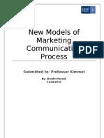 New Models of Marketing Communication Process