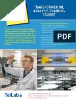 Transformer Oil Analysis 2020 Email Brochure