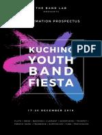 Kuching Youth Band Fiesta 2019 Information Prospectus (Plain Mode) (1)