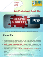 Health & Safety Professionals Email List.ppt