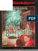 TSR 9573 - The Lost Shrine of Bundushatur