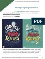 Día de la Mujer_ Ocho libros protagonizados por mujeres que fomentan el empoderamiento _ RPP Noticias.pdf