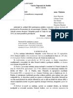 Decizie CSJ Andrei Donică