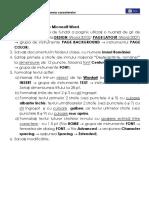 FL - Formatarea Textului - Imnul Național Al României