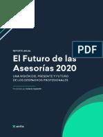 El Futuro de las Asesorías para 2020