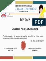 Diploma Talento