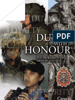 Duty With Honour
