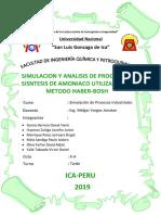 SIMULACION Y ANALISIS DE PROCESO DE SISNTESIS DE AMONIACO UTILIZANDO EL METODO HABER-BOSH-grupo nº 5.docx