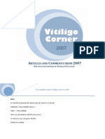 The Complete Guide to Vitiligo Corner 2007