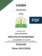 SOAL UTAMA USBN EKONOMI FIX.doc