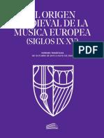 Origen musica medieval