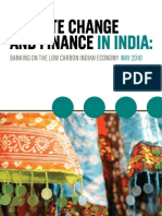 Climate Change and Finance in India 2