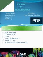 Lidar Technology ( Seminar-1).pptx