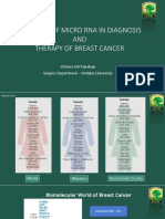The role of MICRO RNA in diagnosis and therapy of breast cancer.ppt