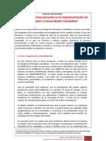Guía de comunicación para municipios saludables
