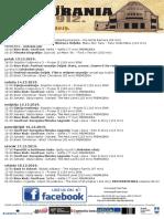 Program Kina Urania 12. 12. - 18. 12. 2019.