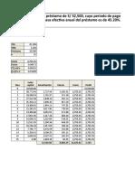 Cronograma de Pagos - Solucion
