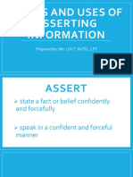 FORMS AND USES OF ASSERTING INFORMATION.pptx
