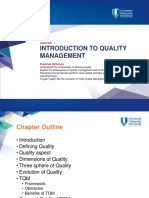 CH 1 - Introduction to Quality Management - OCW