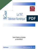 La TNT, Télévision Numérique Terrestre. Examen Probatoire en Informatique par David ARNOULT (1).pdf
