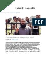 Jihad and Criminality