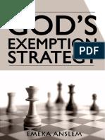God's Exemption Strategy - Emeka Anslem.pdf