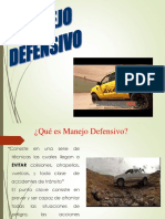 MANEJO DEFENSIVO 4X4