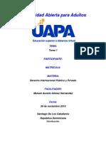 Tarea 1 Derecho Internacional.docx