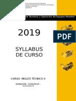 modelo de Sylabus