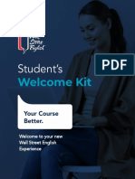 WSE - Student Welcome Kit - CC in-Center