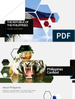 The Republic of the Philippines the Next Asian Tiger