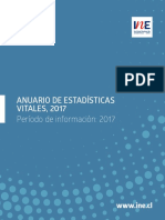 Anuario de Estadísticas Vitales 2017