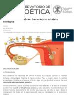 Justo Aznar Naturaleza del embrión humano y su estatuto biológico _ Observatorio de Bioética, UCV.pdf