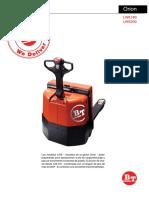 Transpalet Electrico Bt Lwe180