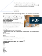 Bebes – Tudo sobre Bebés, Gravidez, Crianças e Familia. » Quais os alimentos que pode introduzir num bebé (a partir dos 4 meses) » Print