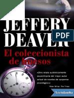 #1 El Coleccionista de Huesos - Jeffery Deaver