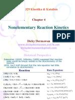 4-Nonelementary Reaction Kinetics