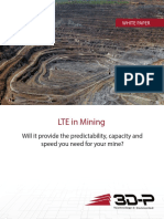 Performance of LTE in Mining White Paper