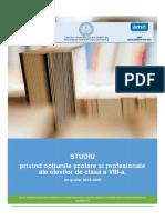 Raport OSP București 2019-2020