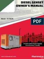 Owner Manual - C2 -MDI-NEF