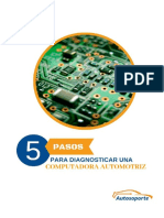 5 PASOS  PARA DIAGNOSTICAR UNA COMPUTADORA AUTOMOTRIZ FINAL