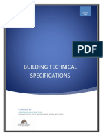 Building Technical Specifications by Ade