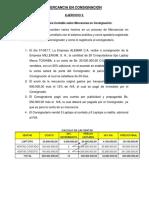 EJERCICIOS 003 Otro Metodo - Mercancia en Consignacion