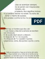 100 Reglas Ortográficas RAE