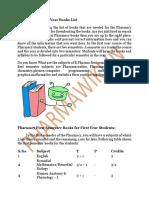 B.-Pharmacy-First-Year-Books-List-pdf.pdf