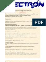 Coagulation & Floculation