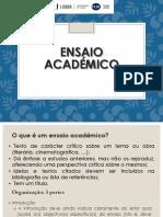 Ensaio Académico