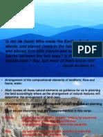 Landscape Planning - Quran Verse