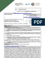 RESUMEN DE LECTURA -  RAFAEL ARROYO CASTAÑEDA -